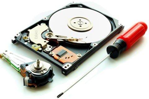 riparazione disco